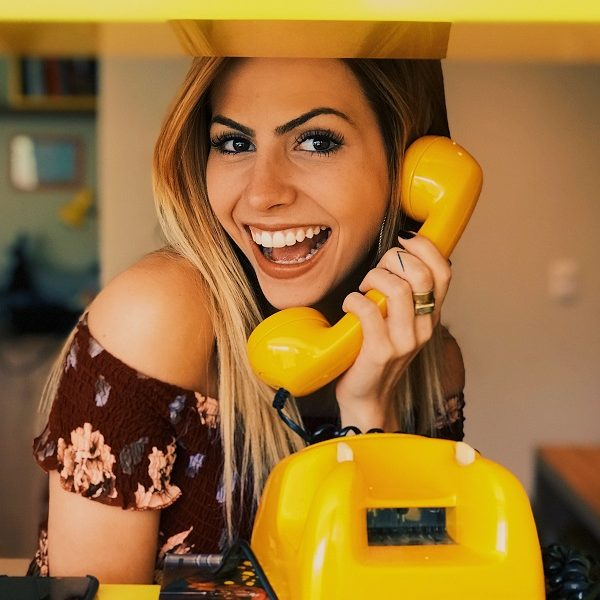 yellow fun phone